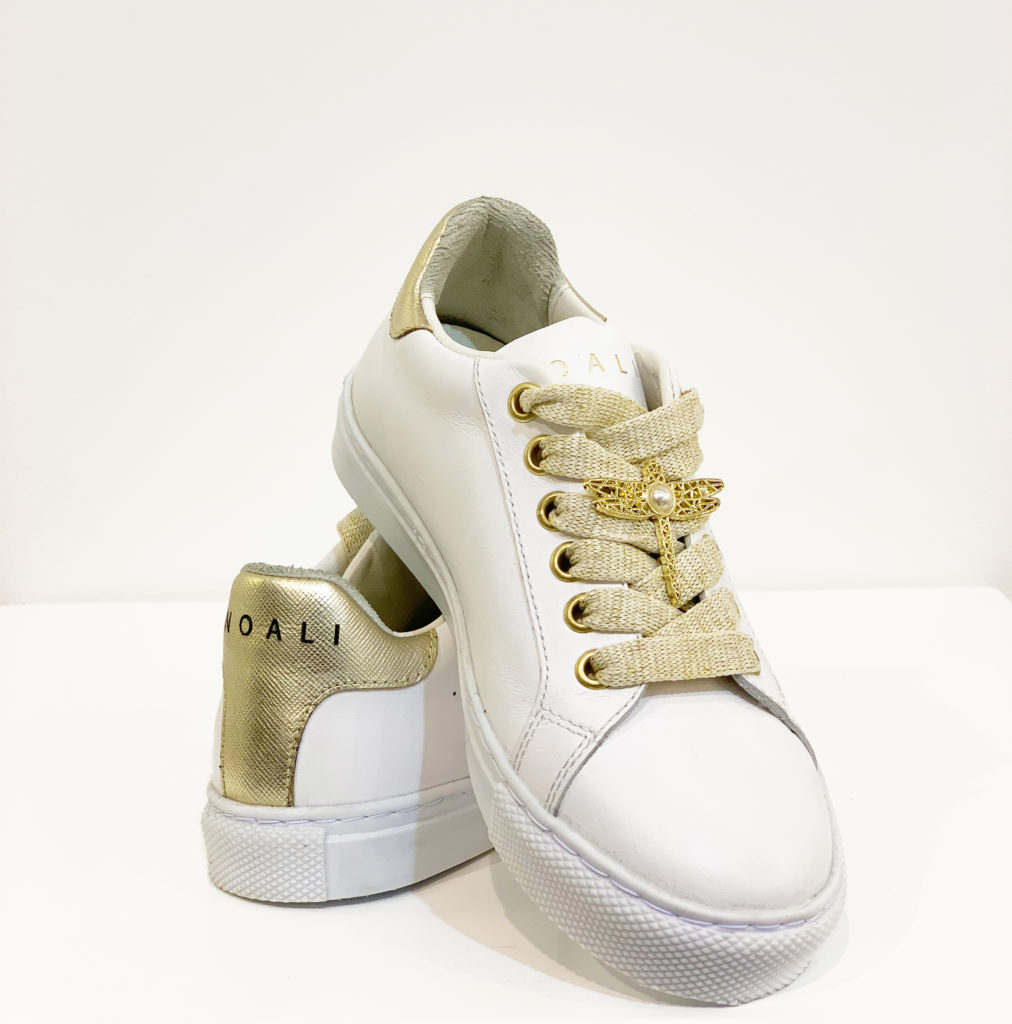 SHOES NOALI WHITE GOLD